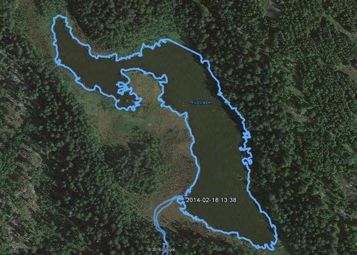 2014.02.18. Rudträsk - 1,6km ja 36min